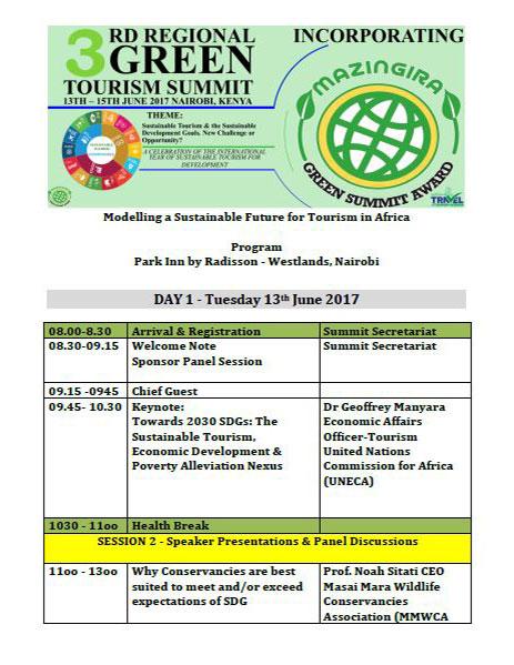 3rd Annual Green Summit Program