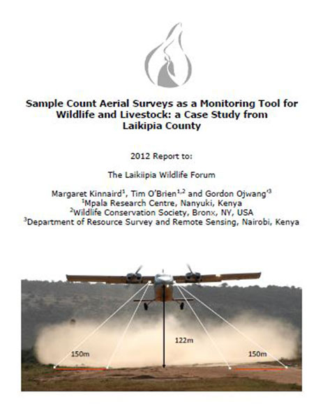 Aerial survey report to LWF 2012