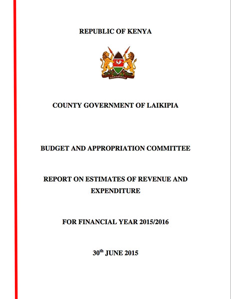 Budget Appropriation