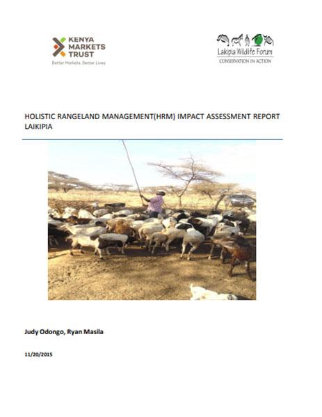 Holistic Rangeland Management (HRM)