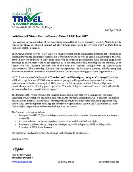 Invitation to Green Summit