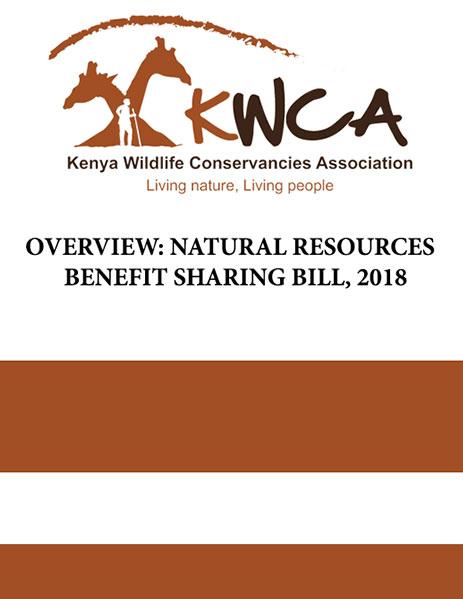 Natural Resource Benefit Sharing Bill 2018