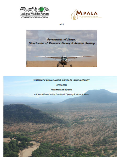Systematic aerial sample survey of Laikipia County – April 2016