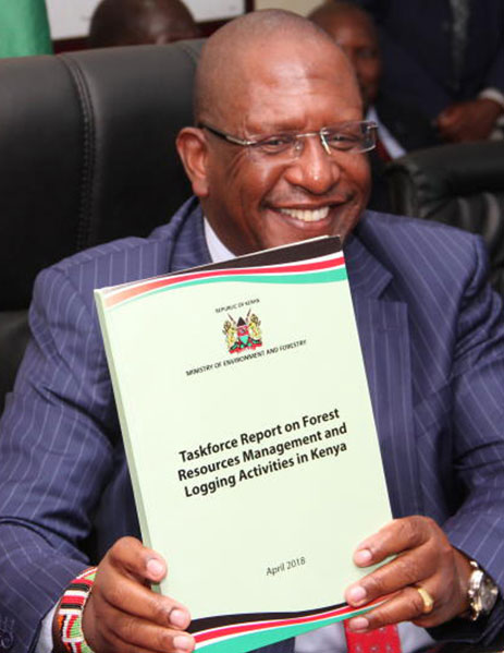 The Task Force Report on Forest Resource management And Logging Activities in Kenya