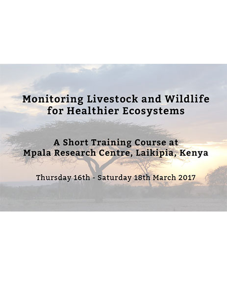 Training Course Livestock Wildlife Environmental Health
